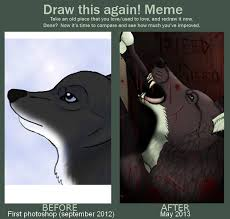 Meme Neko - draw this again meme by neko systeme on deviantart