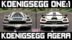 koenigsegg agera engine forza horizon 3 koenigsegg one 1 vs koenigsegg agera ultimate