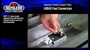 napoleon lhd45 fuel conversion kit installation tutorial youtube