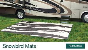 Rv Patio Mats Wholesale Home T J Trading Inc Home Of The Snowbird Mat