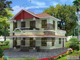 home design low budget low budget slop roof home kerala home design and floor plans