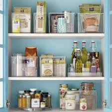 How To Organize A Pantry With Deep Shelves by Linus Pantry Binz The Container Store