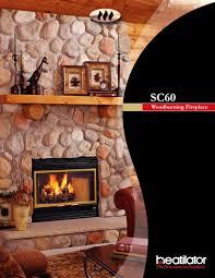 woodburning fireplaces sc60 heatilator pdf catalogues