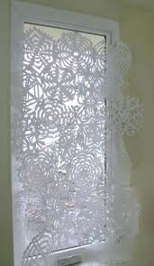 snowflake curtains was i there