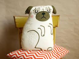 diy pug cushion sewing kit crafting pug pillow home decoration diy pug cushion sewing kit crafting pug pillow home decoration material