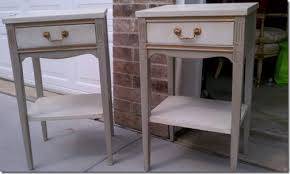 Gray Nightstands Mindful Gray Nightstands Power Of Paint