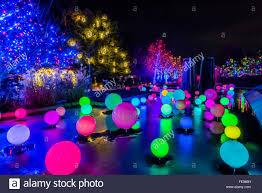 Botanical Gardens Lights Blossoms Of Light One Million Lights Illuminating The Denver