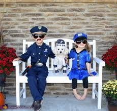 Dog Halloween Costume Kids Bad Dog Arrested Police Officers Halloween Costume Ideas