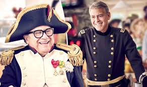nespresso commercial actress jack black danny devito channels napoleon as he and george clooney get into