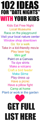 25 unique family activities ideas on family canvas