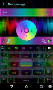 go keyboar apk neon rainbow go keyboard theme apk version 1 0 apk plus