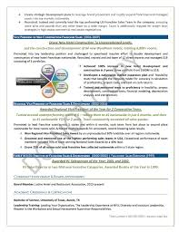 award winning executive resume sample vp resume writing