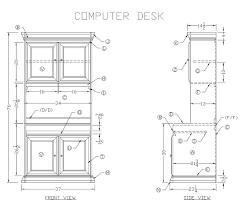 Woodworking Plans Computer Desk Beautiful Computer Desk Plans 25 Best Ideas About Desk Plans On