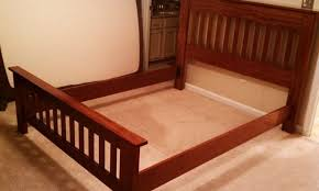 Queen Size Sleigh Bed Frame Bed Frame Elevated Queen Size Bed Frame Queen Size Sleigh