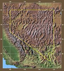 Rocky Mountain Range Map Shaded Relief Map Of Nevada And Adjacent Areas Old Mountain