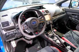 subaru oem jdm console hood with red stitching 2015 wrx 2015 2018 subaru wrx sti review top speed