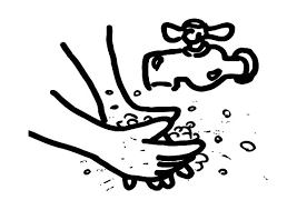Hand Washing Coloring Sheet - hand washing coloring pages for kids coloring sun