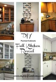 Painted Kitchen Cabinets Diy Painted Kitchen Cabinets Hometalk