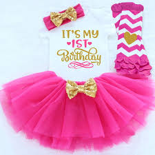 baby s birthday baby clothing sets 1st happy birthday party wear baby 1 year