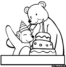spongebob happy birthday coloring pages birthday online coloring pages page 1