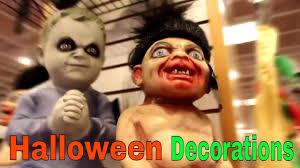 new 2017 decoration spirit halloween store youtube