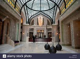 interior of gresham palace now a four seasons hotel famous for