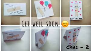 get well soon kid get well soon card 2 craft for kids easy diy cards for kids