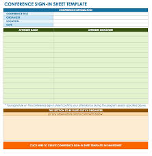 Sign In Sheet Excel Template 7 Printable Sign Up Sign In Sheet Templates Word Excel Excelbuz