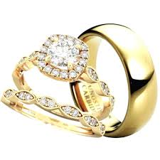 couple rings gold images Made for two his hers wedding ring set jpg