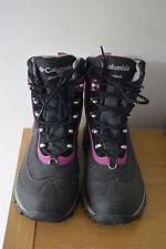 columbia womens boots size 9 columbia s winter lace up walking hiking boots ebay