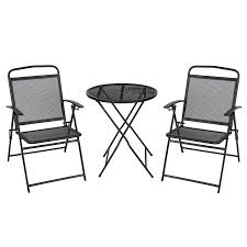 6 Seat Patio Table And Chairs Amazon Com Best Choiceproducts 3 Piece Patio Bistro Set Outdoor