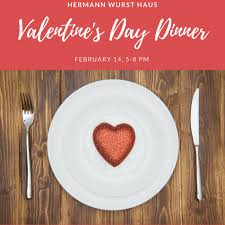 it s your special day plate treat your sweetheart to a s day dinner hermann wurst haus