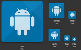 android icon size free android launcher icon template psd titanui