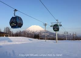 ski for kids at hilton niseko village hotel japan