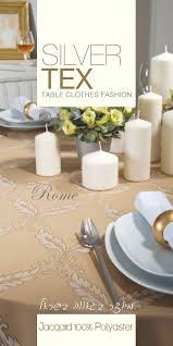 Oblong Table Cloth 55 Best Silvertex Tablecloth Images On Pinterest Tablecloths