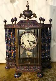 bell desk clock watch classic european antique mechanical clock