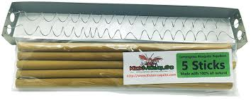 amazon com kick mosquito repellent sticks citronella lemongrass