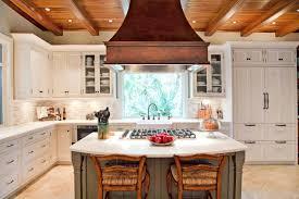 green tile backsplash kitchen decorating green tile backsplash and copper range hoods in
