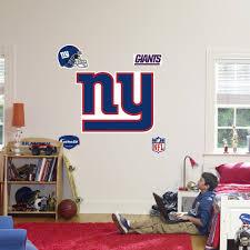 new york giants logo wall decal fathead new york giants logo wall decal