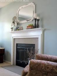 Paint Tile Fireplace by How To Paint The Ceramic Tile Around My Fireplace Paint Ceramic