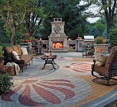 Patio Designs Using Pavers Paver Designs For Backyard Photo Of Exemplary Paver Backyard Paver