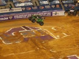 monster truck race track monster jam this amusing life