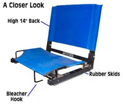 Most Comfortable Stadium Seat Stadium Chairs U2013 A Great Or Booster Club Fundraiser