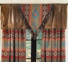 Southwestern Style Curtains Shadows V Valance