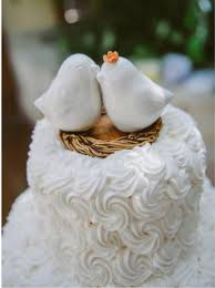birds wedding cake toppers bird wedding cake topper wedding corners