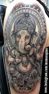 ganesha tattoo on shoulder shoulder tattoo ganesh google search style pinterest