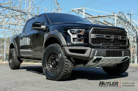 Ford Raptor Truck Black - ford raptor with 18in black rhino armory wheels exclusively from