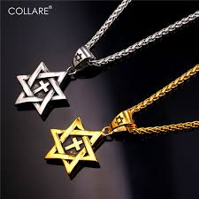 religious jewelry stores aliexpress buy collare of magen david pendant stainless