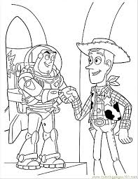 buzz woody free coloring pages art coloring pages