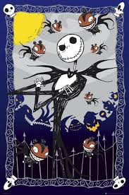 nightmare before glow poster sold at europosters